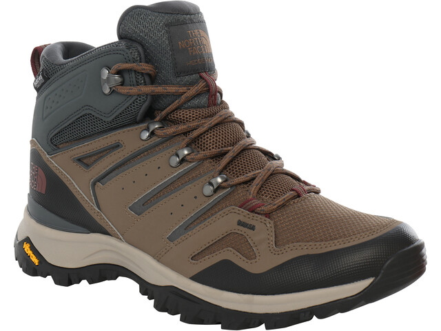 The North Face Hedgehog Fastpack II WP Chaussures Homme, bipartisan brown/dark shadow grey